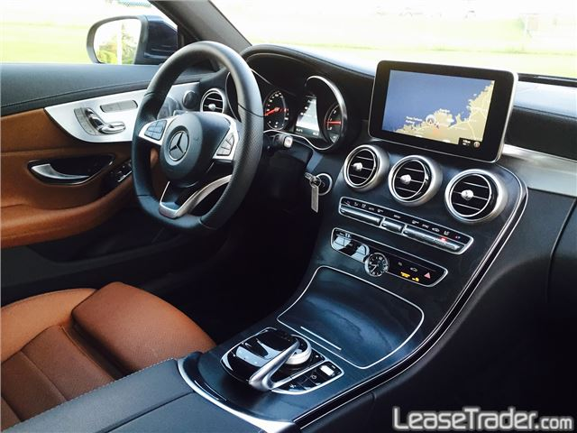 2018 Mercedes-Benz C300 Coupe Interior