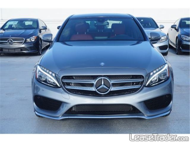 2018 Mercedes-Benz C300 Sedan Front