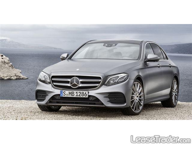 2018 Mercedes-Benz E300 4MATIC Sedan Front