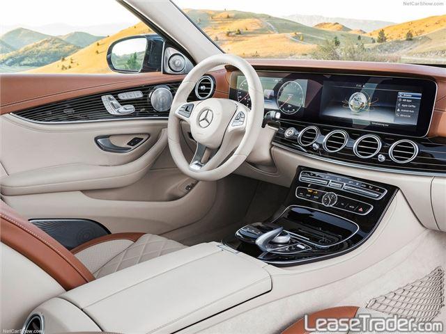 2018 Mercedes-Benz E300 4MATIC Sedan Interior