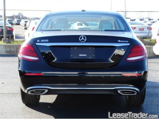 2018 Mercedes-Benz E300 4MATIC Sedan Rear