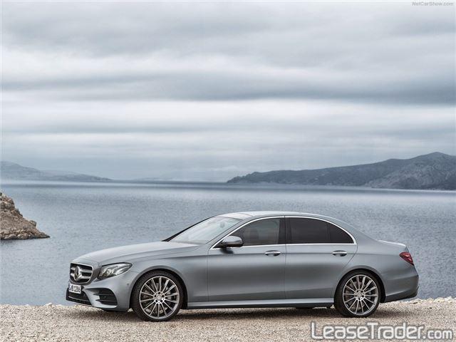 2018 Mercedes-Benz E300 4MATIC Sedan Side