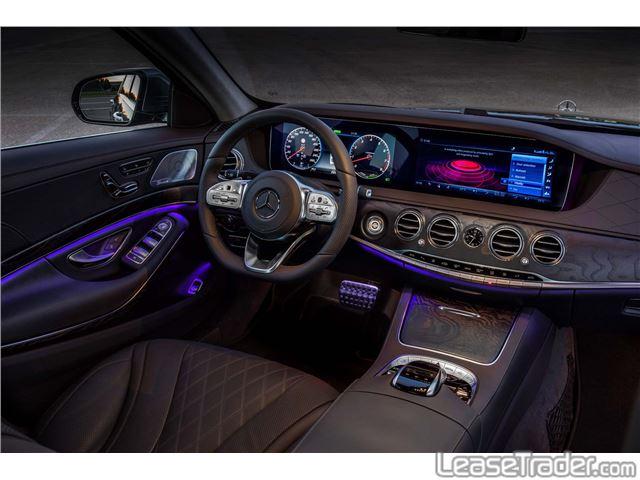2018 Mercedes-Benz S450 Sedan Dashboard