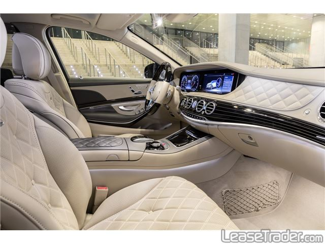 2018 Mercedes-Benz S450 Sedan Interior