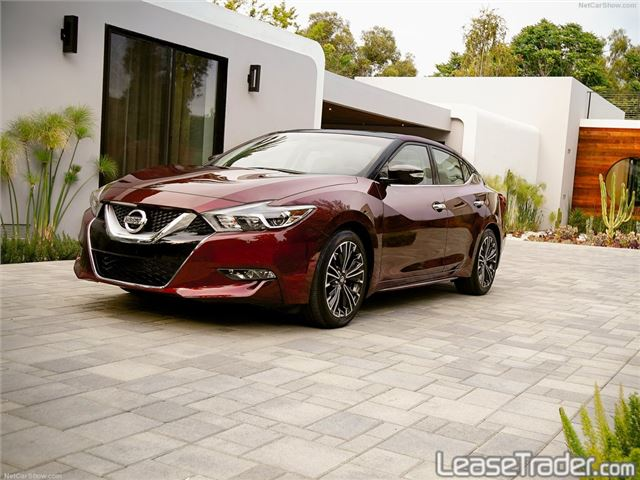 2018 Nissan Maxima S Front