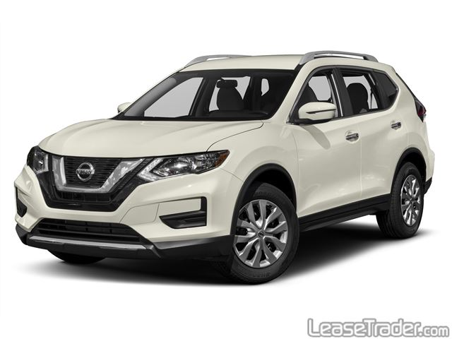 2018 Nissan Rogue S Front