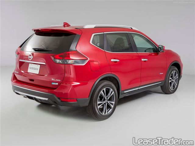 2018 Nissan Rogue S Rear