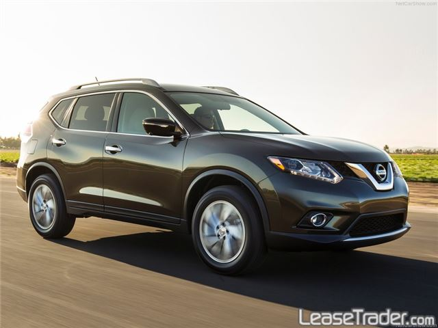 2018 Nissan Rogue S Side