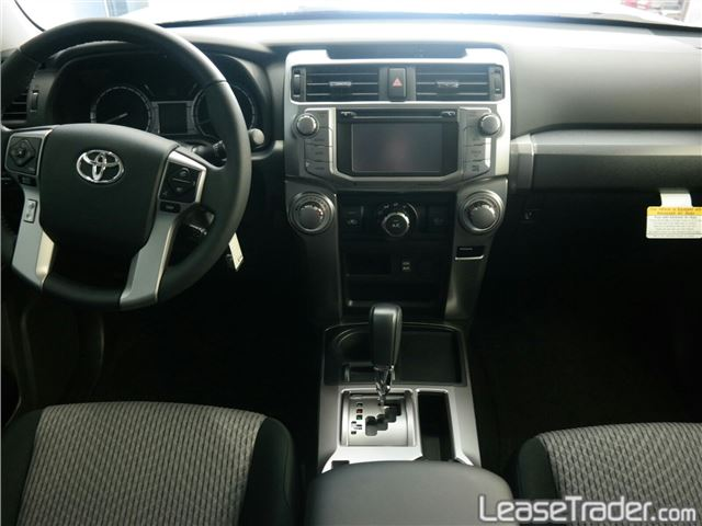 2018 Toyota 4Runner SR5 Dashboard