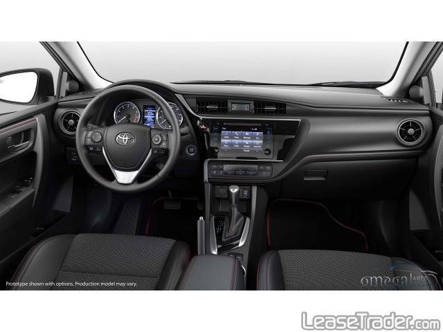 2018 Toyota Corolla SE Dashboard