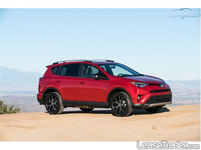 2018 Toyota Rav4 LE Side