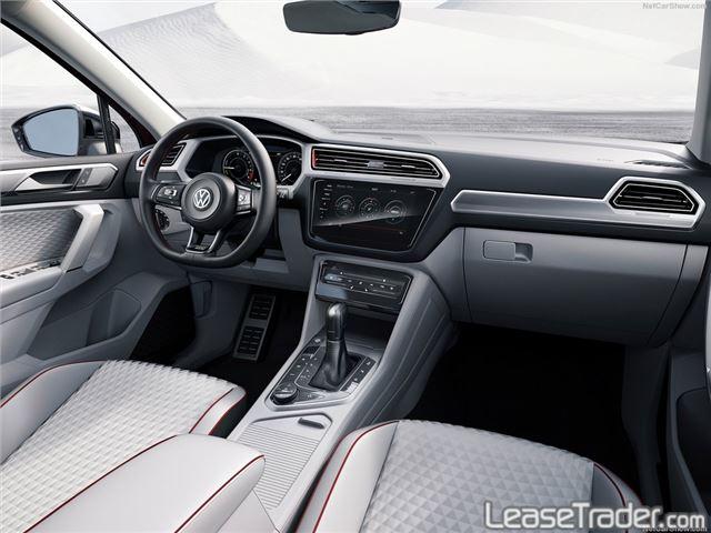 2018 Volkswagen Tiguan 2.0T TSI S Dashboard
