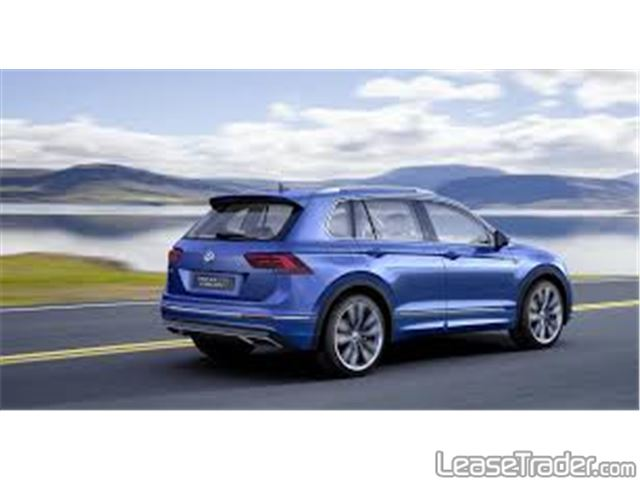 2018 Volkswagen Tiguan 2.0T TSI S Rear