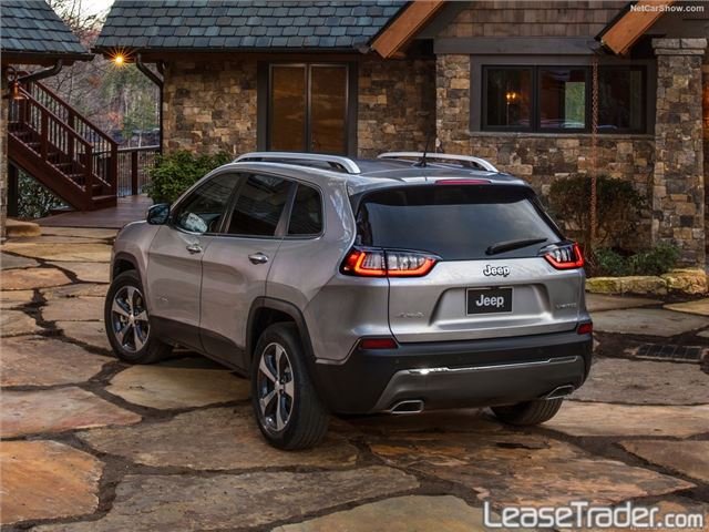 2019 Jeep Cherokee Limited Rear