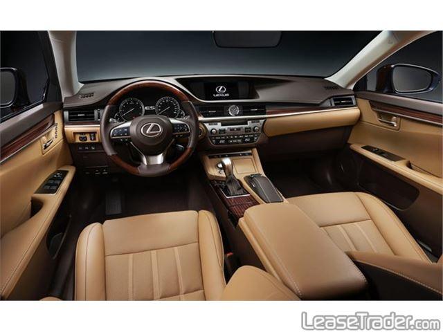 2016 Lexus Es 300h Hybrid Sedan Interior