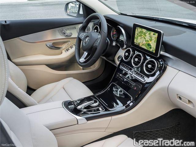 2016 Mercedes Benz C300 4matic Sedan Dashboard