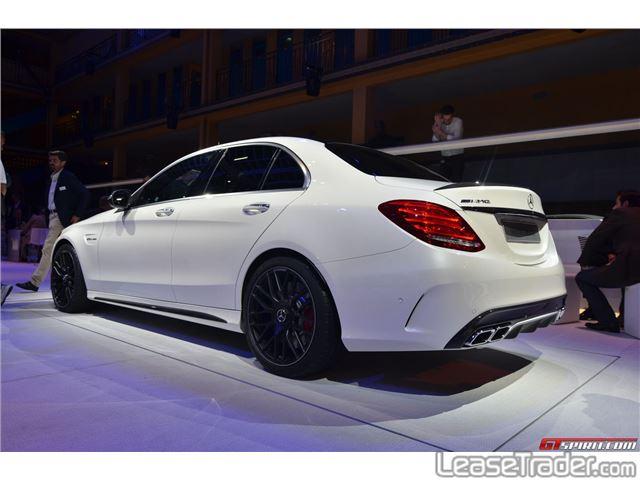 2016 Mercedes Benz C300 Sedan Rear