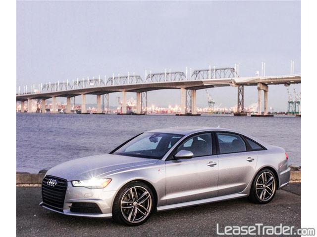 2017 Audi A6 Premium 2.0 TFSI Sedan Rear
