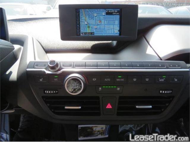 2017 BMW i3 with Range Extender Dashboard