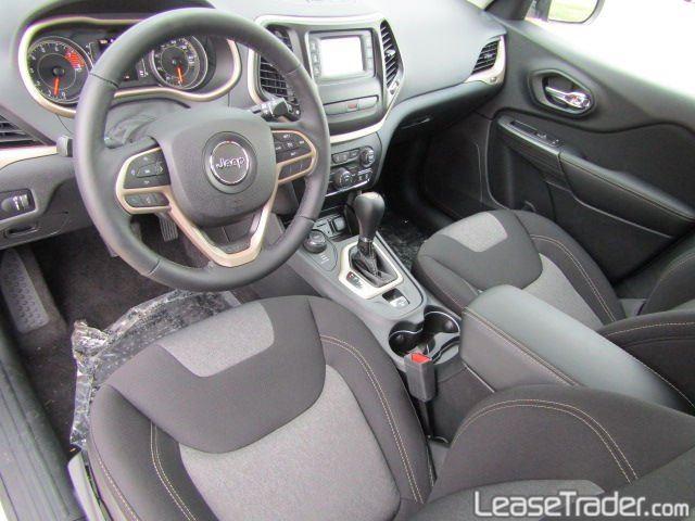 2017 Jeep Cherokee Sport Interior