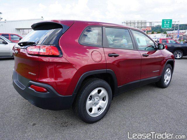 2017 Jeep Cherokee Sport Rear
