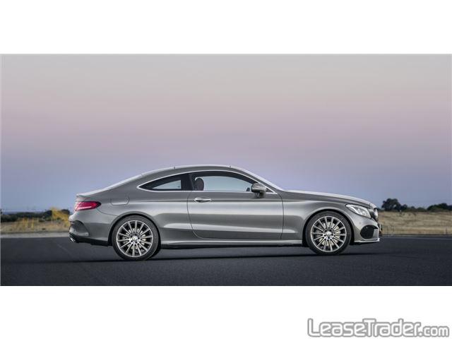 2017 Mercedes-Benz C300 Coupe Rear