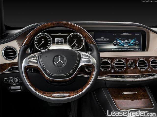 2017 Mercedes Benz S550 4matic Sedan Dashboard