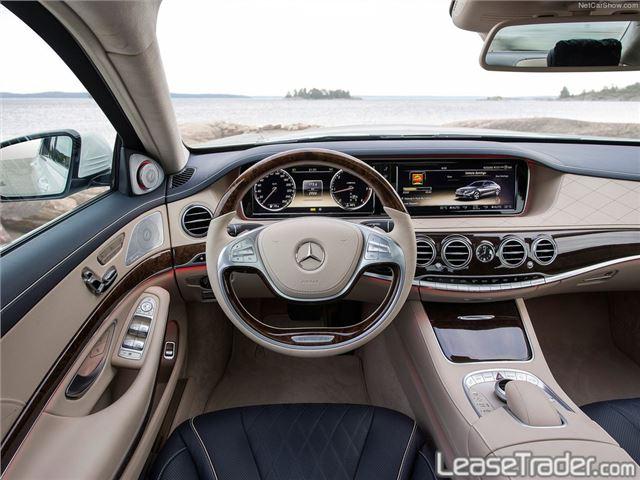2017 Mercedes Benz S550 4matic Sedan Interior