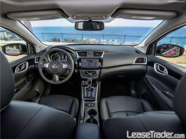 2017 Nissan Sentra Sv Interior