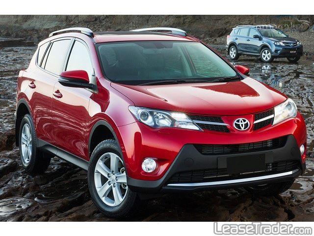 2017 Toyota Rav4 LE Front