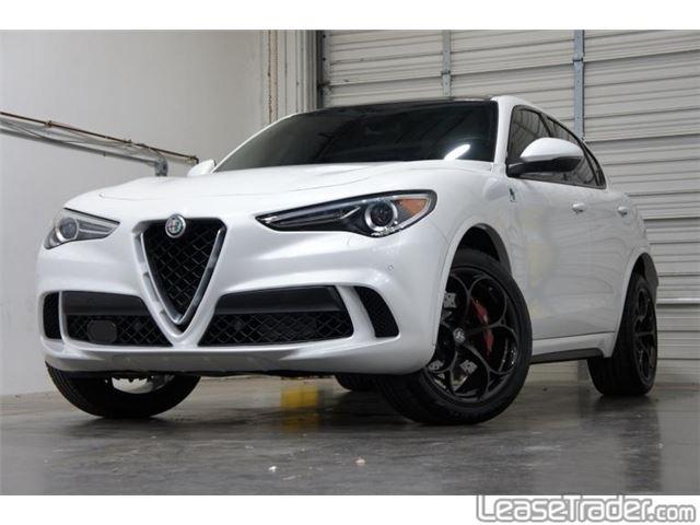 2018 Alfa Romeo Stelvio SUV Front