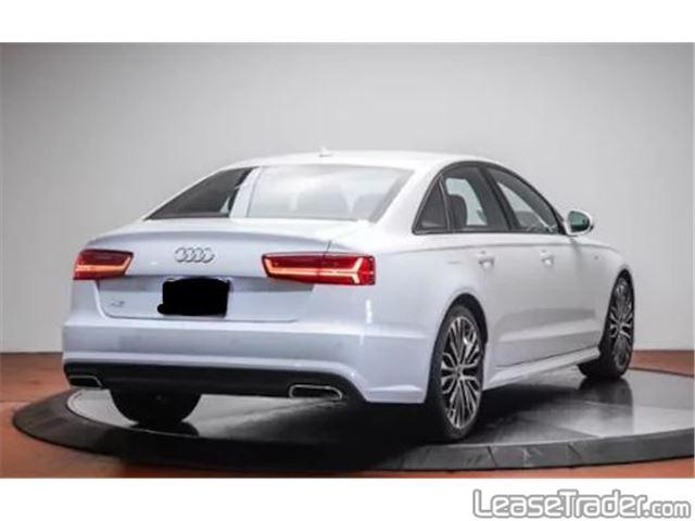 2018 Audi A6 Premium 2.0 TFSI Sedan Rear