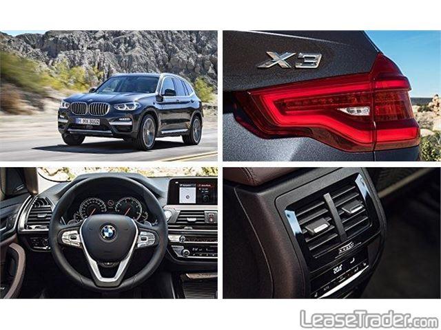 2018 BMW X3 xDrive30i Rear