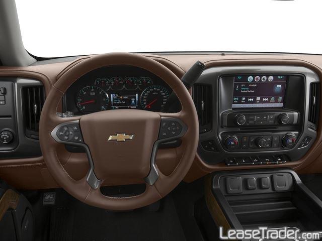 2018 Chevrolet Silverado 1500 LT Double Cab Dashboard