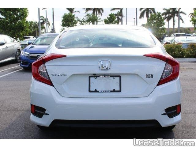 2018 Honda Civic LX Rear