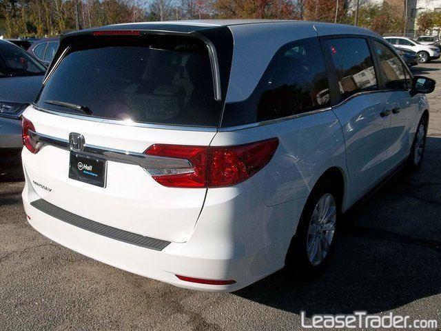2018 Honda Odyssey LX Rear