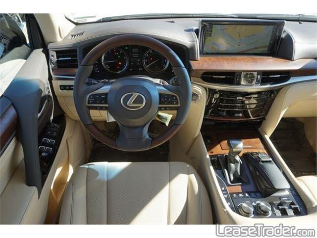 2018 Lexus LX 570 Dashboard