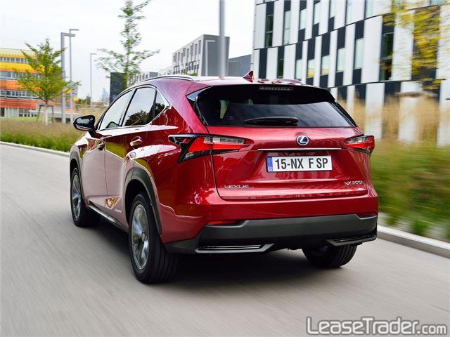 2018 Lexus NX Series NX 300 Rear