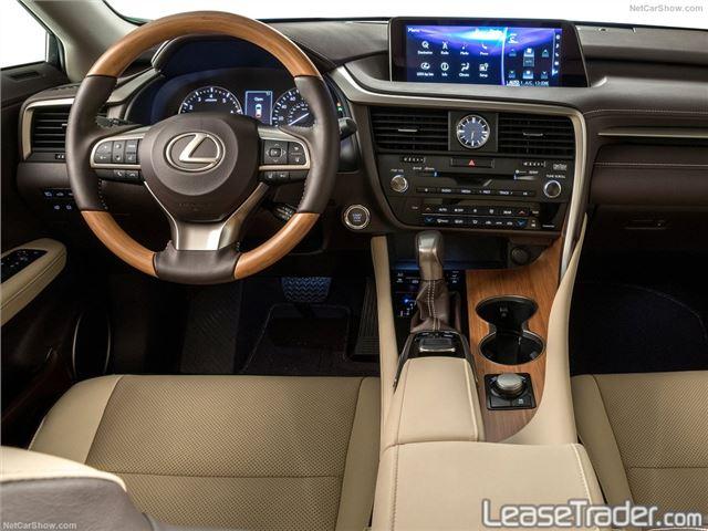 2018 Lexus RX 350L Dashboard