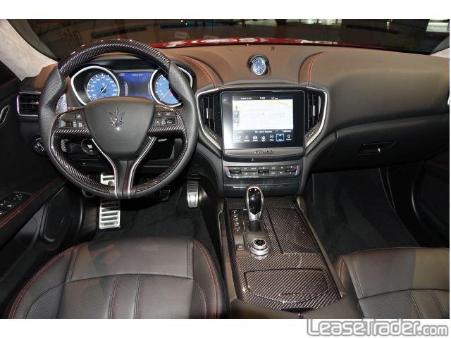 2018 Maserati Ghibli Sedan Dashboard