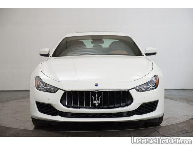2018 Maserati Ghibli Sedan Front