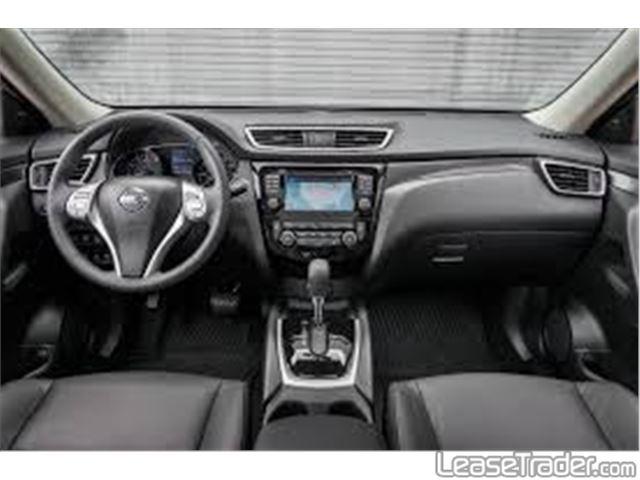 2018 Nissan Rogue SV Dashboard