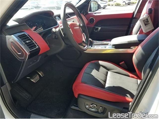 2018 Range Rover Sport 3.0L V6 Supercharged SE Interior