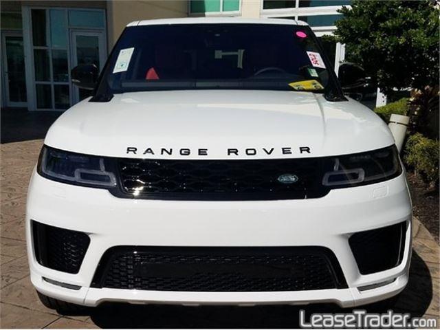 2018 Range Rover Sport 3.0L V6 Supercharged SE Rear