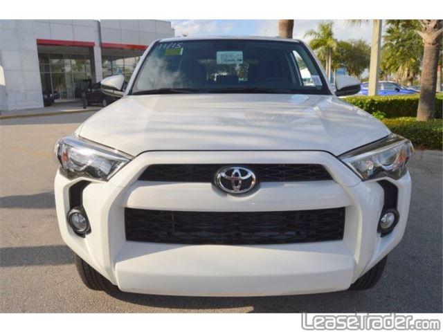 2018 Toyota 4Runner SR5 Front
