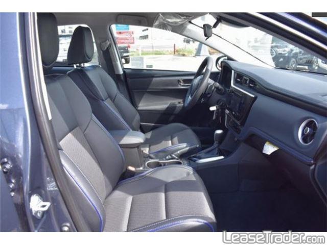 2018 Toyota Corolla SE Interior