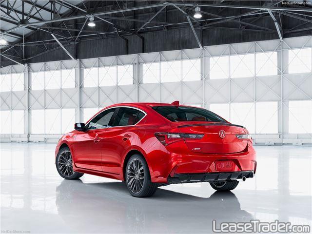 2019 Acura ILX 2.4L Sedan Rear
