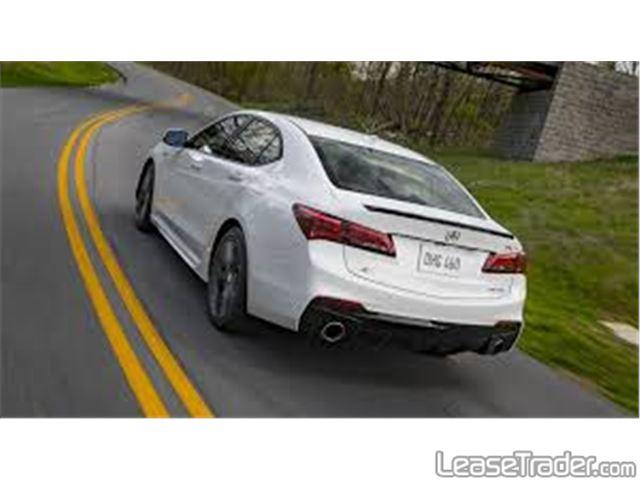 2019 Acura TLX V6 Rear