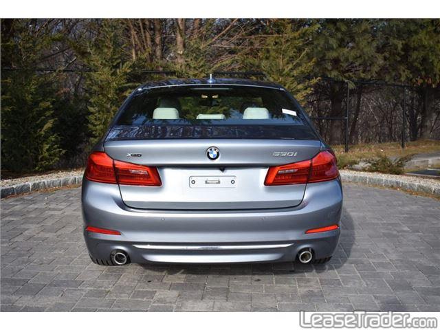 2019 BMW 530i Rear