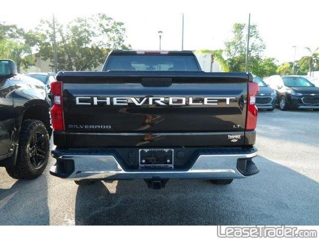 2019 Chevrolet Silverado 1500 LT Double Cab Rear